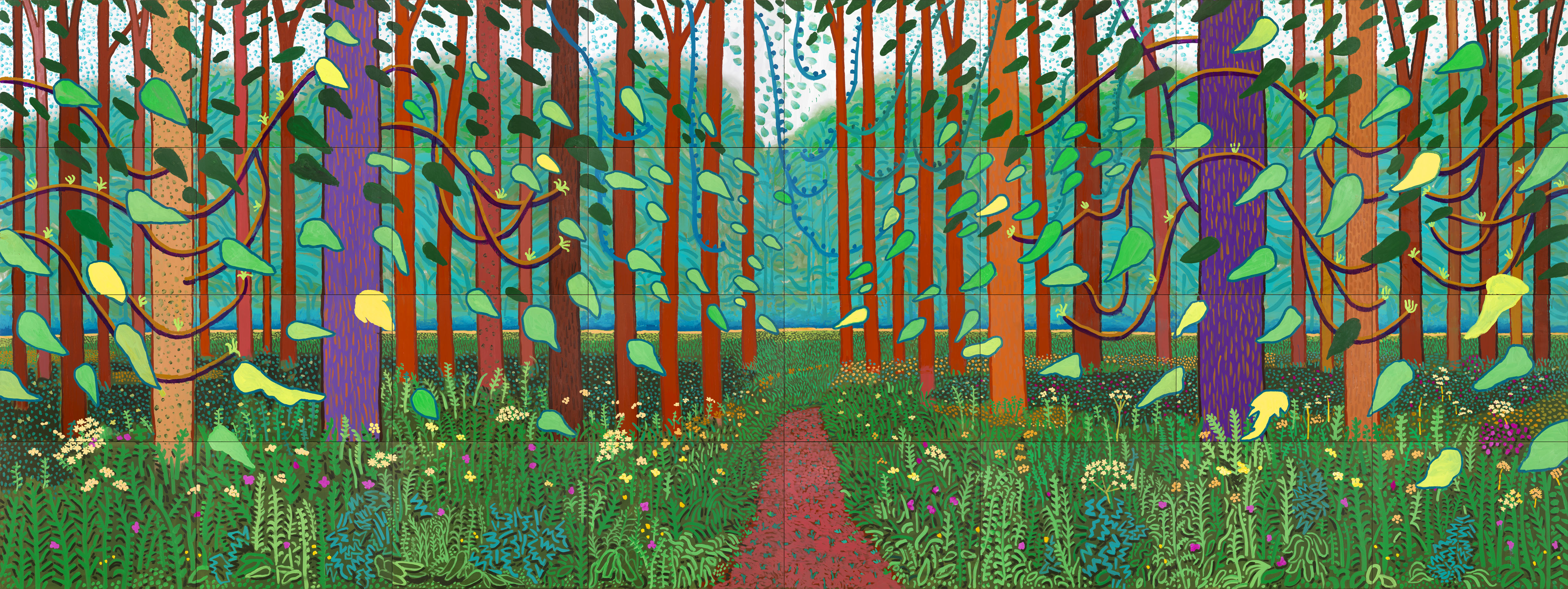 En plein air r volution the painting imperative for David hockney painting