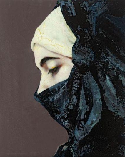 Secret Behind the Veil 14, Mixed Media, 2012