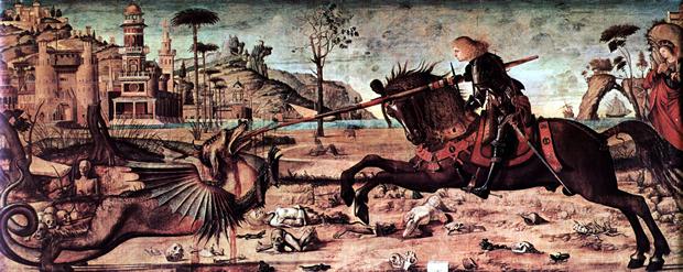 Vittore Carpaccio: St. George and the Dragon