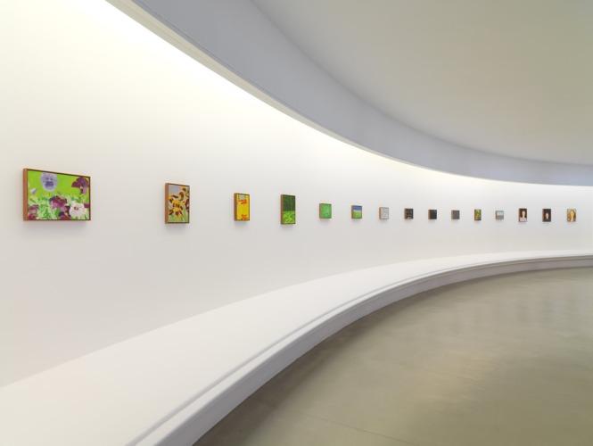 Installation view, Alex Katz: Give me Tomorrow