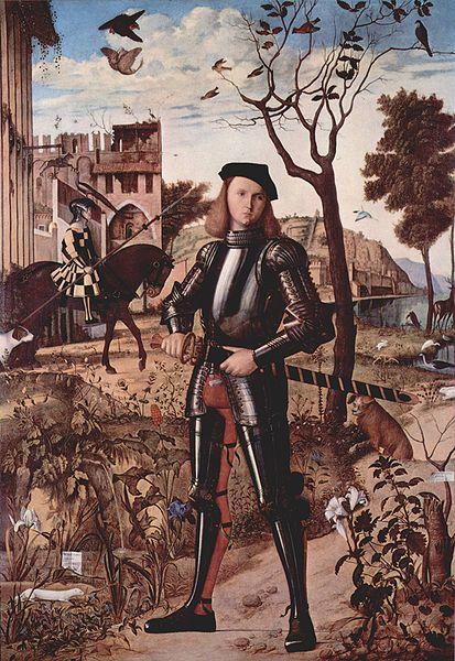 Vittore Carpaccio: Portrait of a Knight