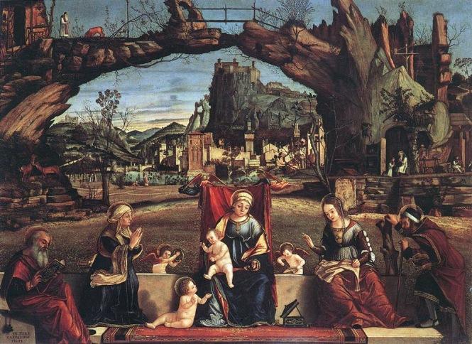 Vittore Carpaccio: La Sacra Conversazione