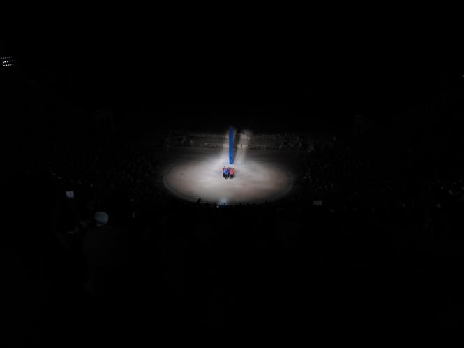 Mark Lammert: Stage Design for The Persian - Epidauros